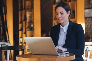 Ondernemer vult de ondernemerscheck in